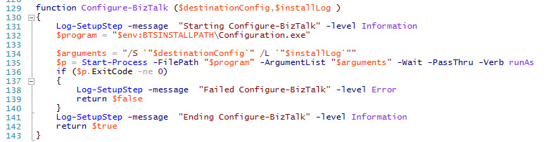 ConfigureBizTalk