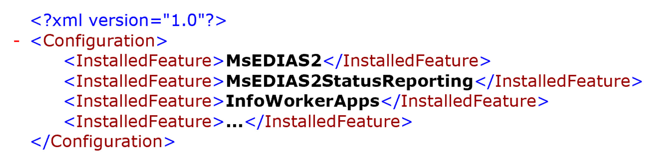 FeatureXml